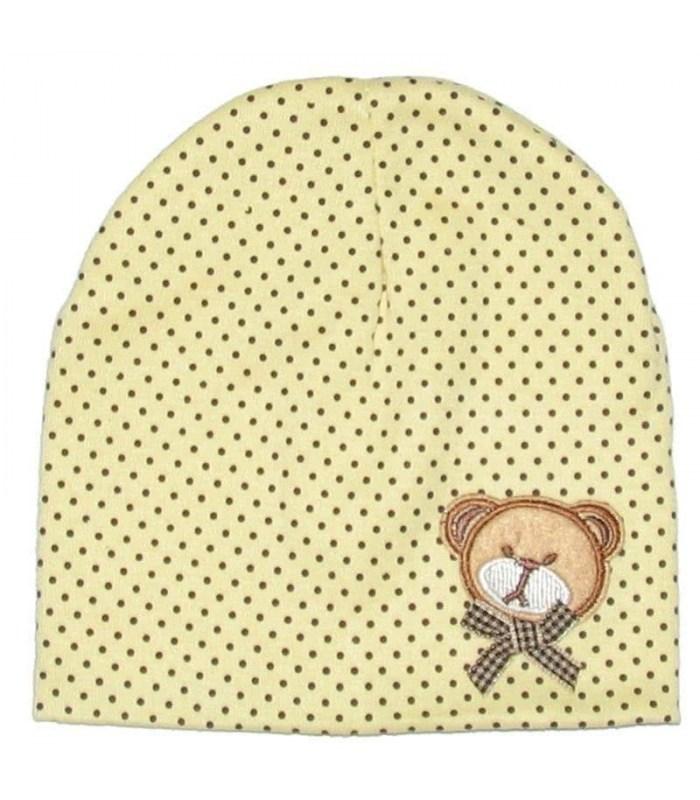 Трикотажна шапочка з малюнком