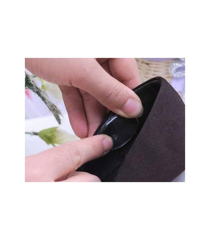 Силіконові наклейки для взуття 3 на 2,5
