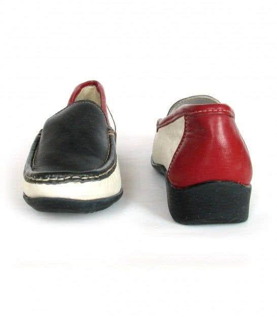 Кожаные туфли лоферы Otra Cosa