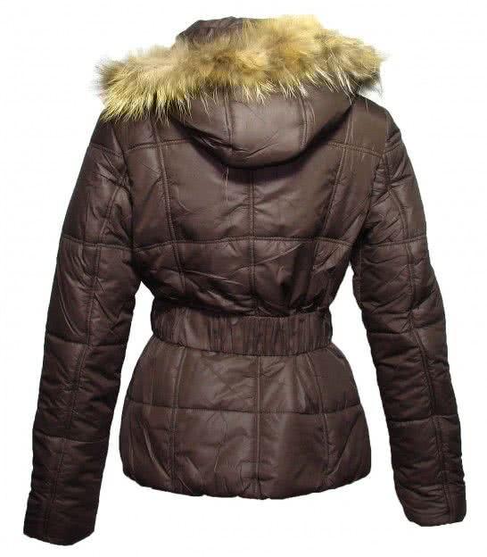 Куртка Foglie Rosse brown