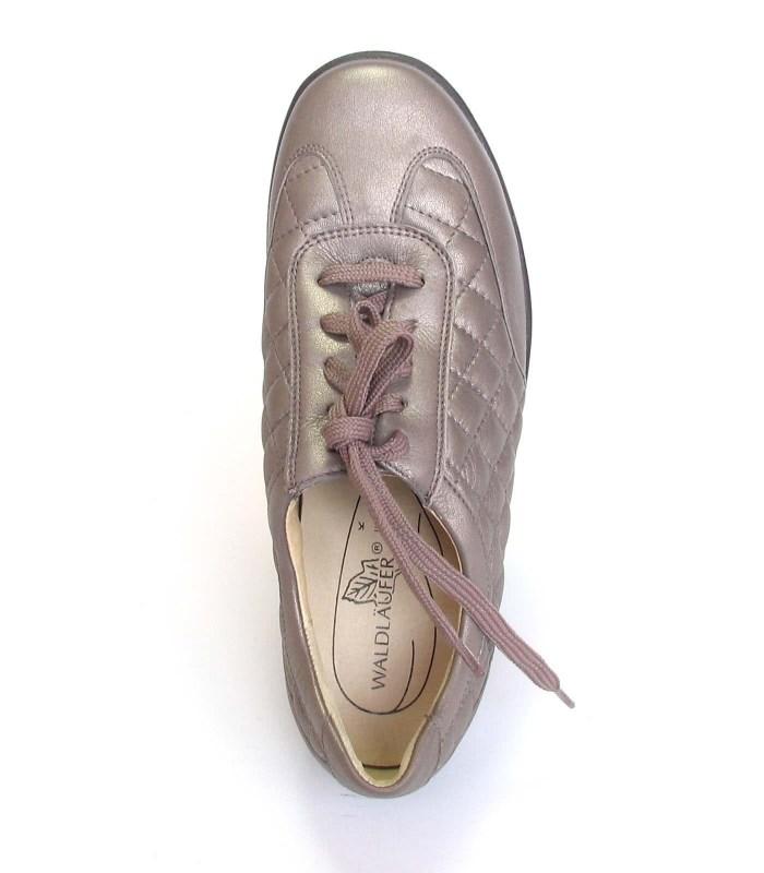 Кожаные полуботинки Waldlaufer bronz