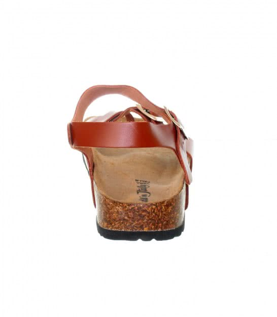 Шкіряні босоніжки Bellini brown