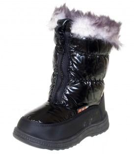 Зимові термо чобітки на дівчинку black