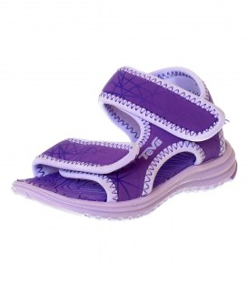 Сандалии аквашузы Teva Purple
