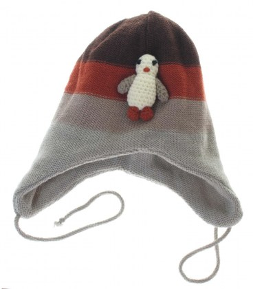 Вязана шапочка ZIPPY пінгвін