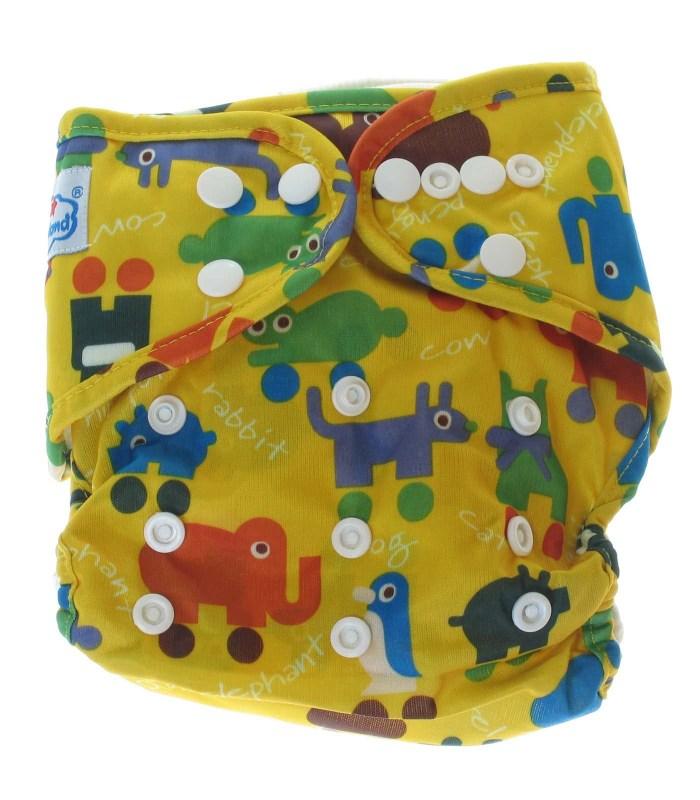 Многоразовый подгузник - BabyLand с двойной резинкой