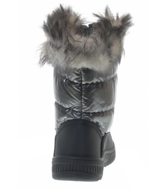 Зимние термосапожки на девочку grey