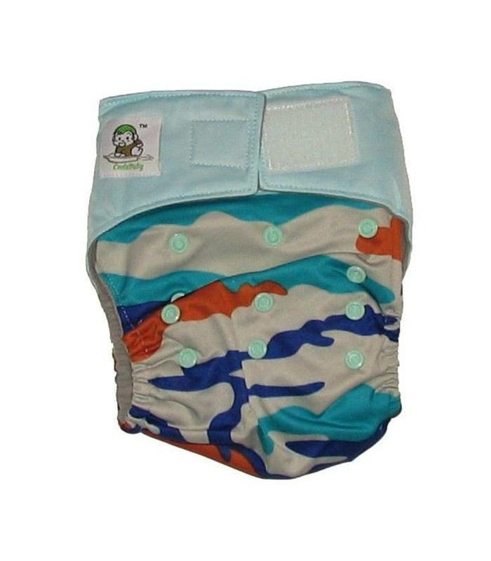 Багаторазовий підгузник - CoolaBaby на липучці