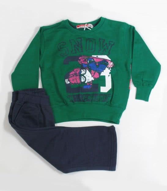 Спортивный костюм Energiers green