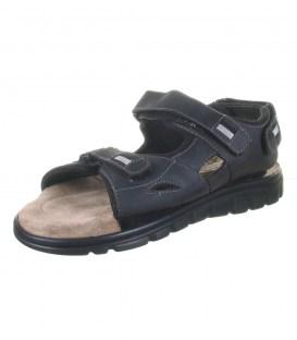 Шкіряні сандалі Rohde nero