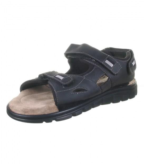Кожаные сандалии Rohde nero