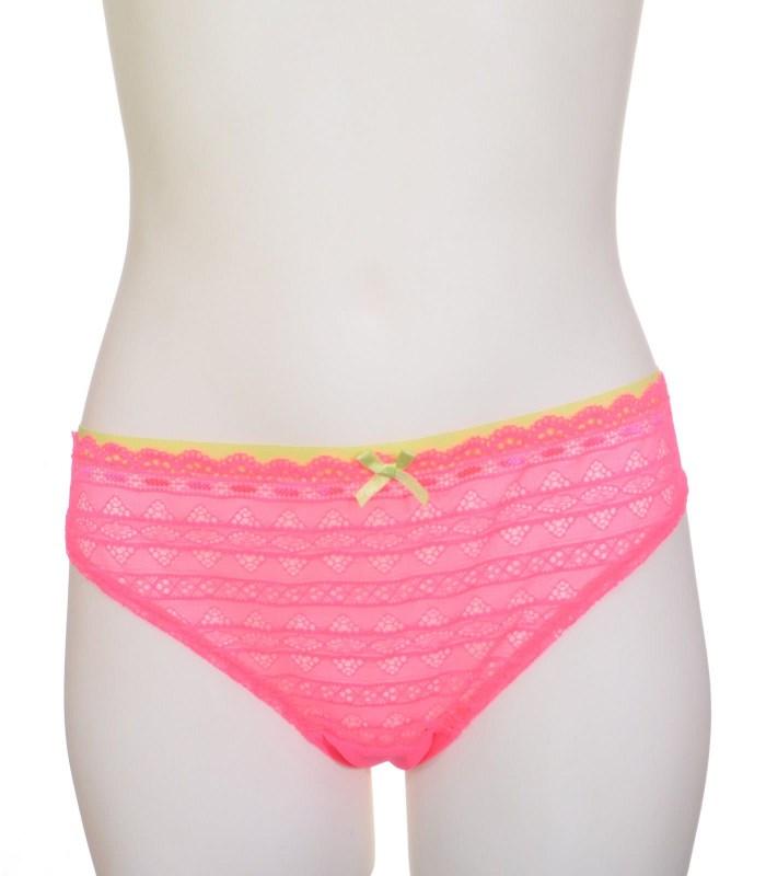 Трусы бразильяна Hunkemoller fluor pink