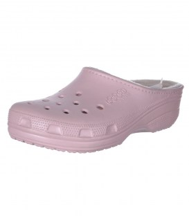 Утеплені сабо jibbitz by Crocs pink