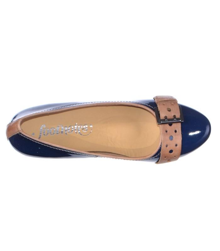 Кожаные туфли Footnotes navy G