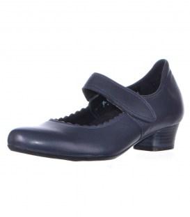 Шкіряні туфлі Footnotes navy