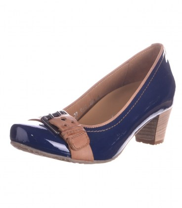 Шкіряні туфлі Footnotes navy G