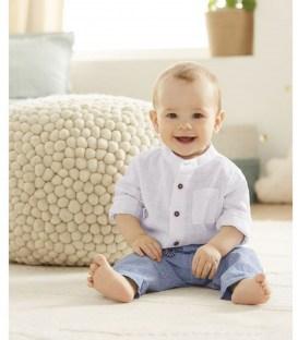 Льняная рубашка Lupilu