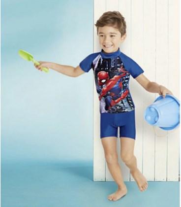 Солнцезащитный купальник Spider-Man