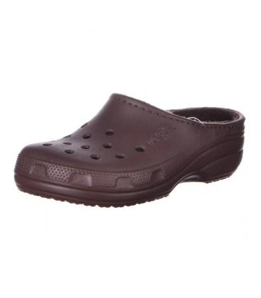 Утепленные сабо jibbitz by Crocs brown