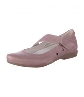 Кожаные балетки Footnotes