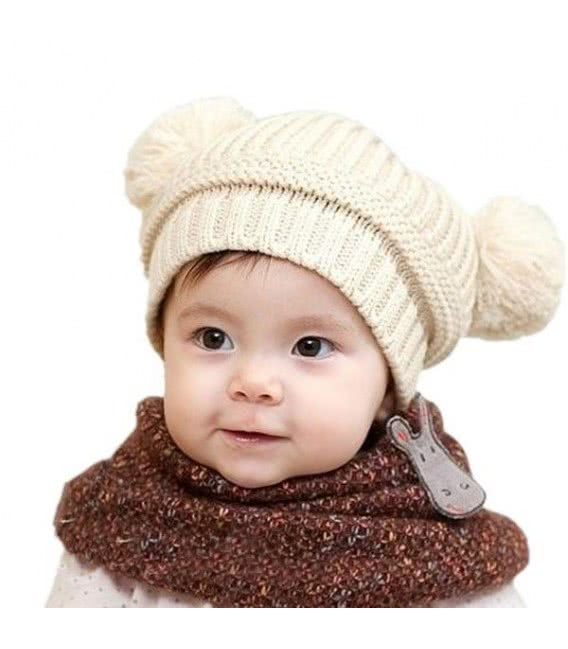 Вязаная шапочка на девочку