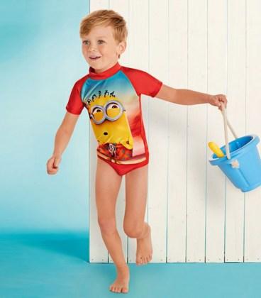 Солнцезащитный купальник Minion