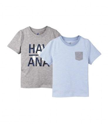 Комплект футболок Lupilu blue