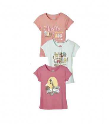 Комплект футболок Lupilu rose
