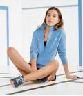 Женская спортивная кофта Crivit blue
