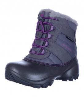 Шкіряні чоботи Columbia lilac